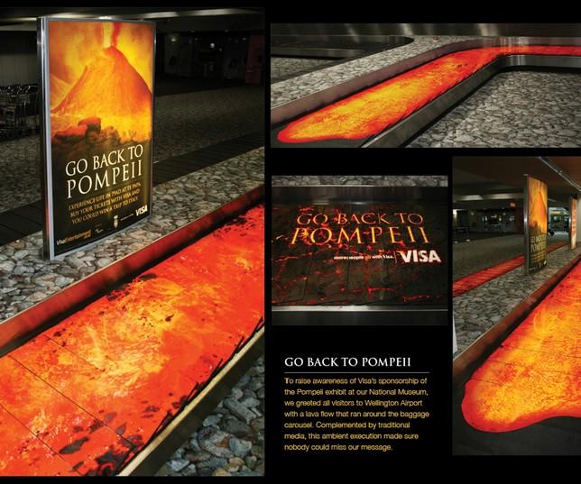 La pub du jour : Une publicité volcanique ! [VISA] 4