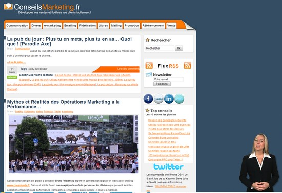 La pub du jour : Rajoutez de l'interactivité sur votre site Web ! 3