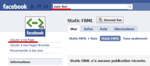static fbml