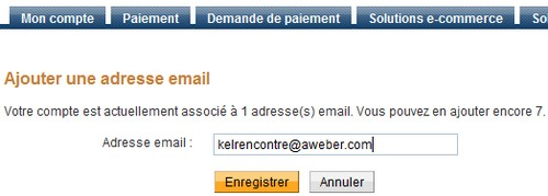 paypal ajouter