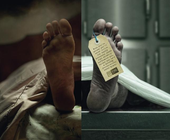 La pub du jour : Un sommeil mortel... [ONG] 1