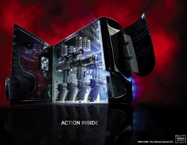 la pub du jour AMD