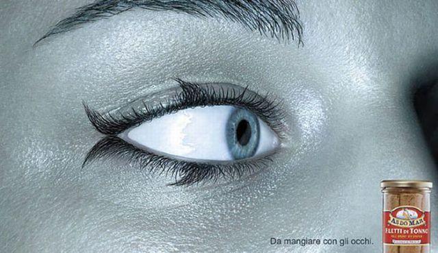 yeux de merlan frit