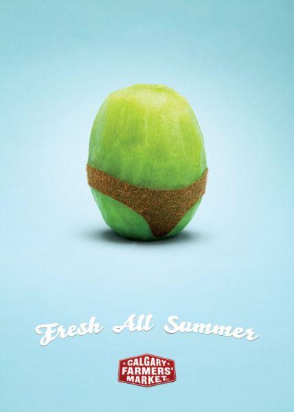 La pub du jour : Des fruits Sexy... [Fruits] 2