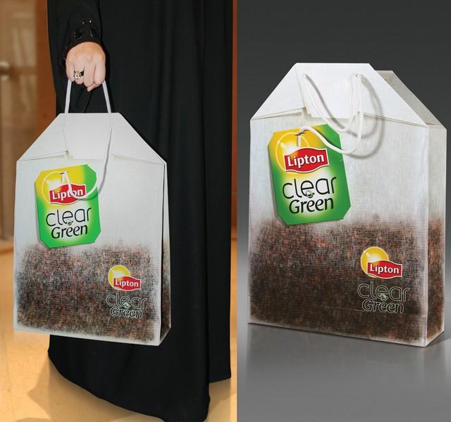 sac de thé