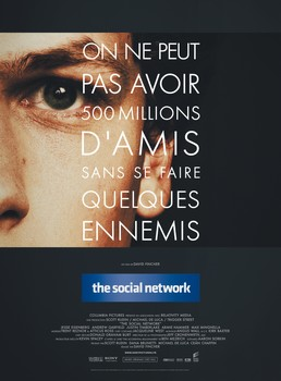 """4 places à gagner pour aller voir le film """"The Social Network"""", l'histoire de Facebook ! 1"""