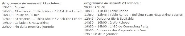 programme web2connect