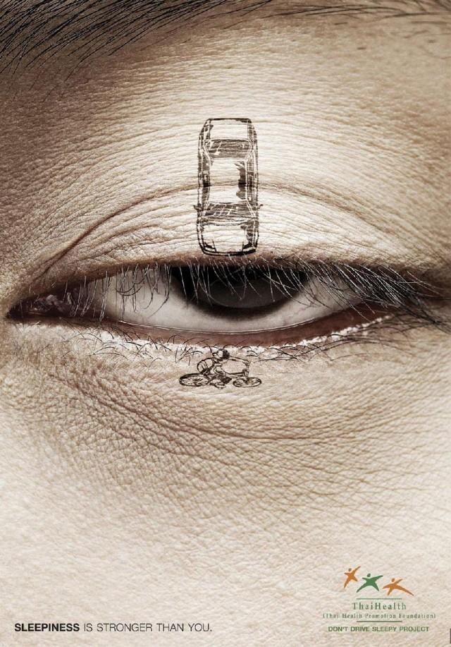 La pub du jour : Ne fermez pas les yeux ! [Sécurité Routière] 1