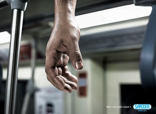 pub pour l'hygiène des mains