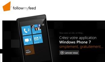 creation application windows mobile