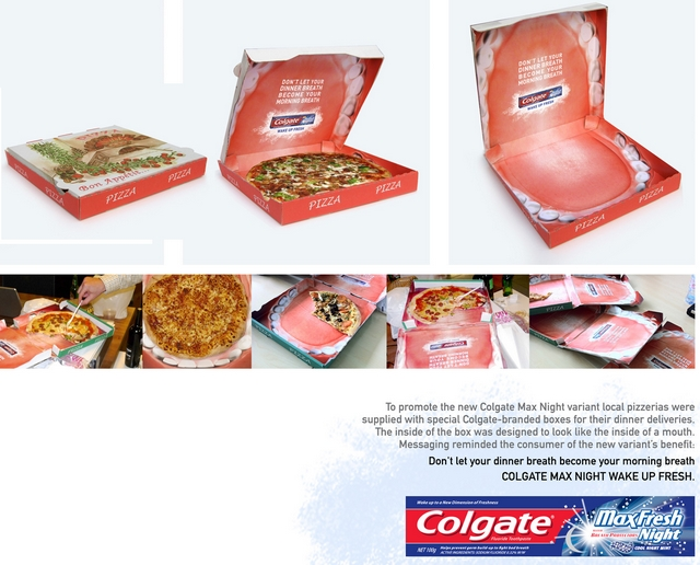 La pub du jour : Pizzas et Dentifrices [Dentifrice] 1