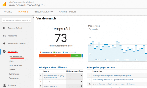 4 astuces avec Google Analytics - Interview Gaetan d'Yvoire [W2C13] 2
