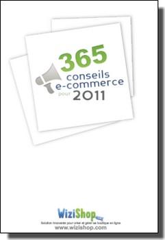 """eBook Gratuit : """"365 Conseils eCommerce"""" par Wizishop 1"""