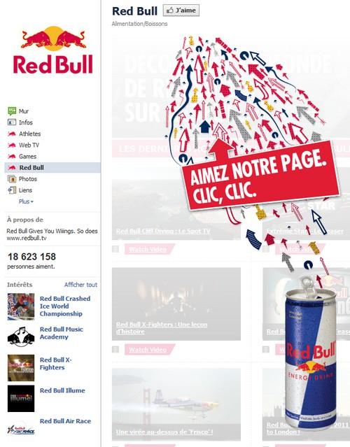 red bull facebook