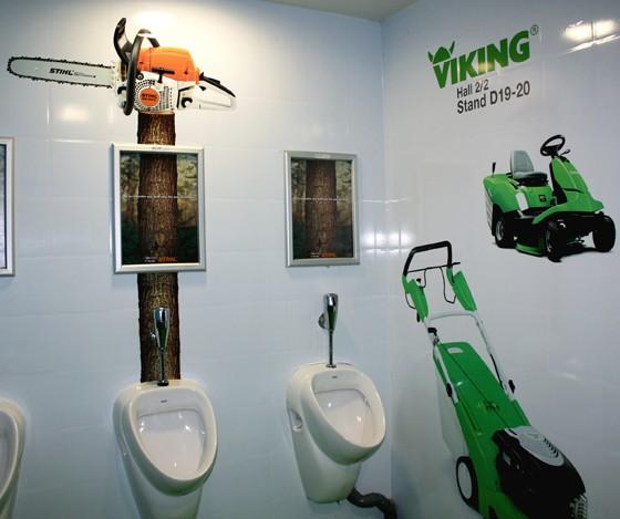 toilettes foire de paris