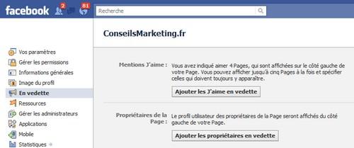 partenariats facebook