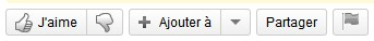 bouton j'aime youtube