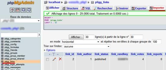 php my admin hostgator