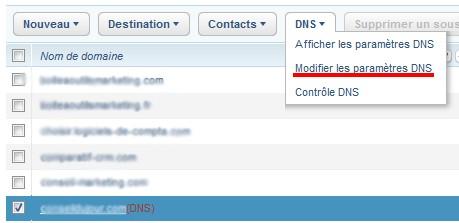 modification DNS