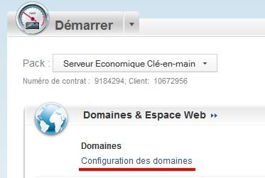 configuration des DNS
