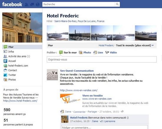 hotel frederic vendée