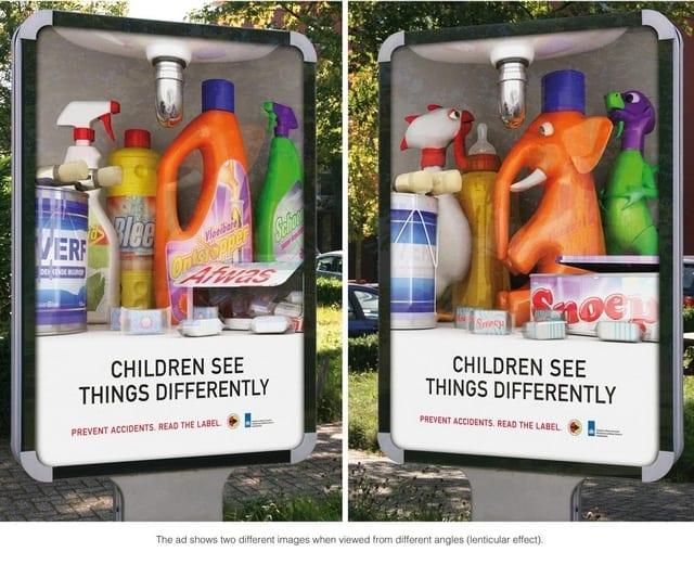 pub pour la prévention accidents domestiques
