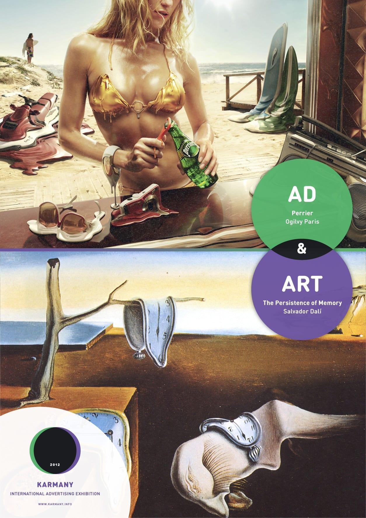 La pub du jour : La pub est un art... [Musée Art] 1