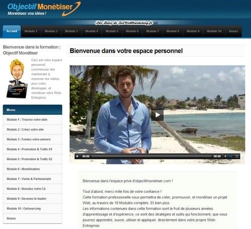 Les fondamentaux pour vendre un produit sur internet - Davy de TonWebMarketing.fr 4