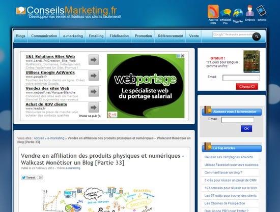 Augmentez la visibilité de vos produits sur votre blog – Walkcast Monétiser un Blog [Partie 34] 10