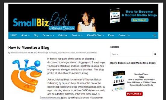 Augmentez la visibilité de vos produits sur votre blog – Walkcast Monétiser un Blog [Partie 34] 6