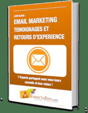 """Livre Blanc : """"Email Marketing : Témoignages et retours d'expérience"""" 1"""
