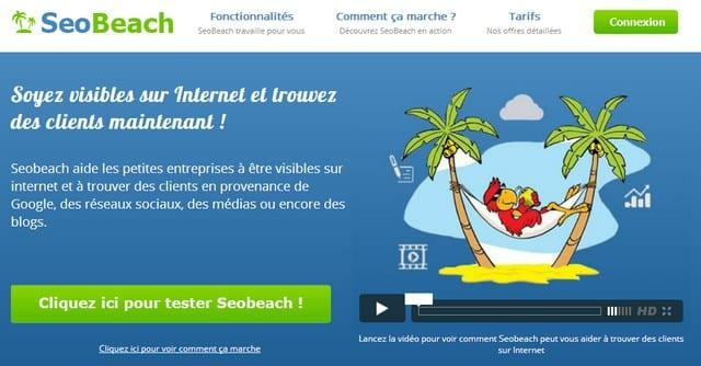 SeoBeach.net, votre assistant marketing virtuel 1