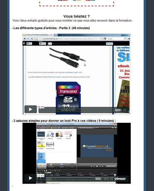 Les split-testings des pages de ventes – Walkcast Landing Pages [10] 1