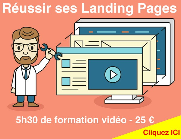 La lisibilité des pages de ventes – Walkcast Landing Pages [25] 4
