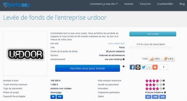 Urdoor.com lance une levée de fonds participative ! 4