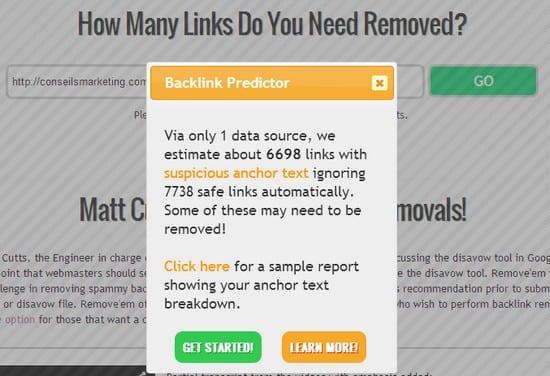 analyse des backlinks