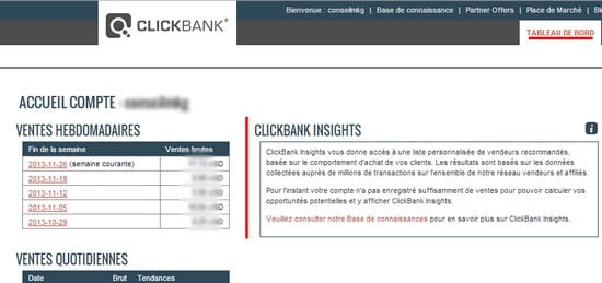 compte clickbank