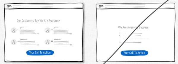 optimisations des pages de ventes internet