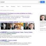 recherche universelle google