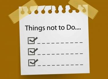 Bonnes Résolutions – Faire une Not To Do List ! 8