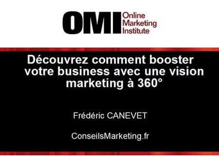 conférence marketing 360