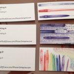 Cartes de visite et Cartes Postales Marketing– Walkcast Cartes de visite [3] 3