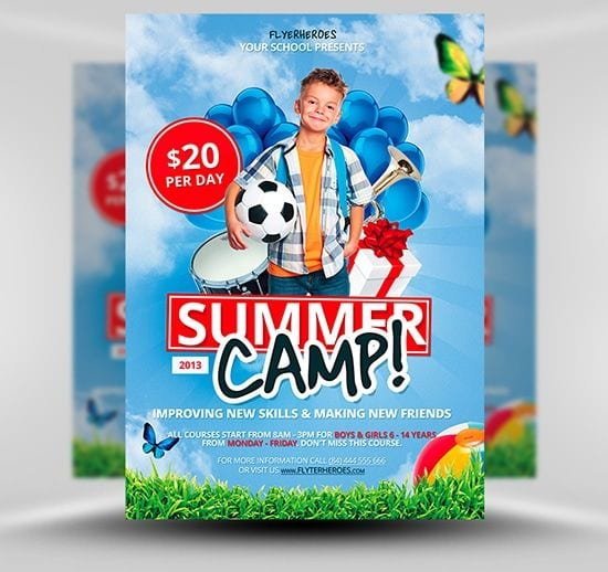 free-summer-camp-flyer-template