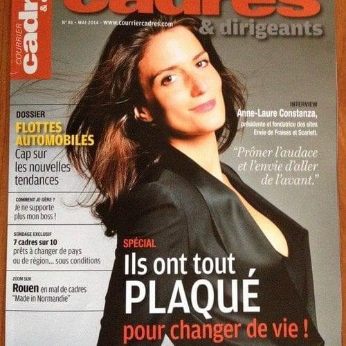 """ConseilsMarketing.fr dans """"Courrier cadres"""" de Mai 2014 : Je ne supporte plus mon boss ! 4"""