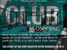 Ces start-up qui vont booster votre business en 2014 - Conférence OSERESO 8