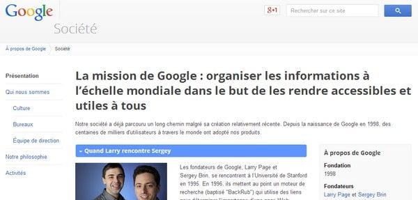 Analyse de Stratégie Marketing de Google 1
