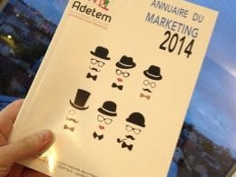 Publication de l'Annuaire du Marketing 2014 7