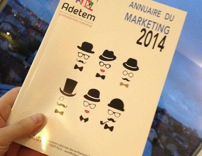 Publication de l'Annuaire du Marketing 2014 4