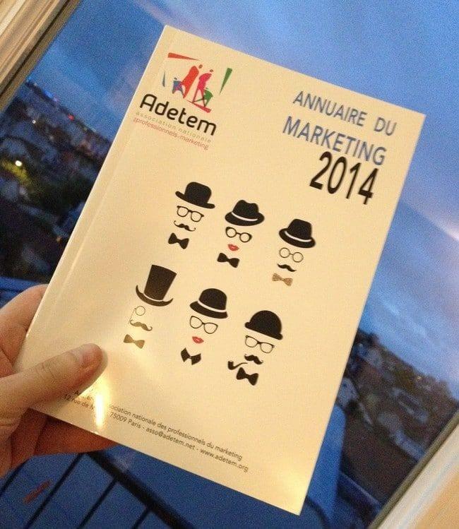 Publication de l'Annuaire du Marketing 2014 1