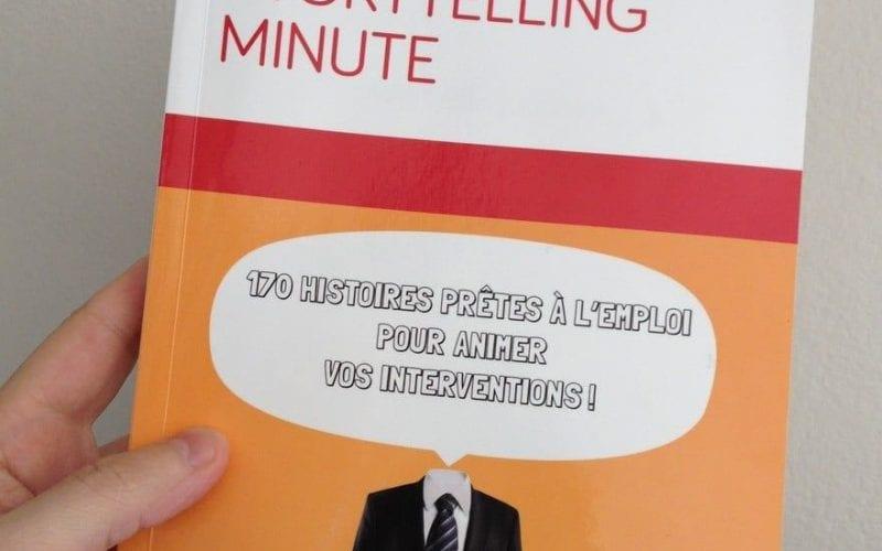 """Critique du livre """"Storytelling minute: 170 histoires prêtes à l'emploi pour animer vos interventions"""" 3"""